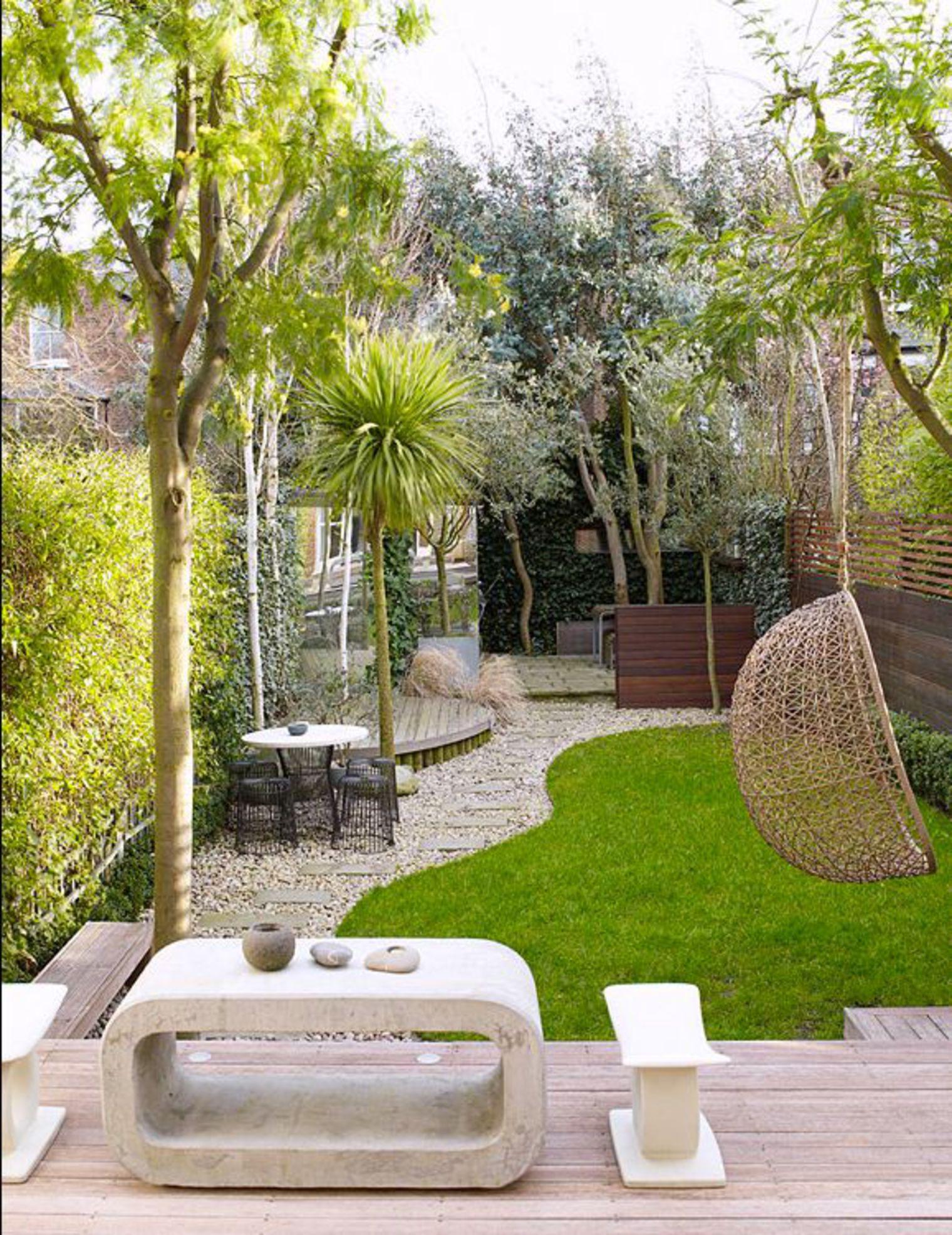 aménagement décoration petit jardin maison
