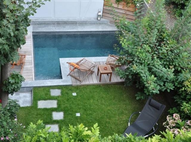 idée décoration petit jardin maison