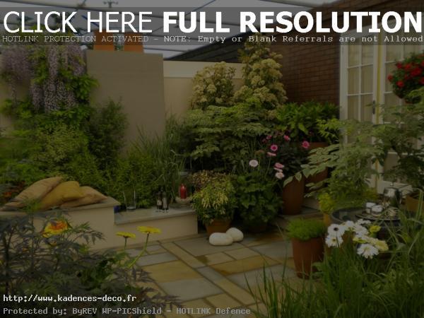exemple décoration petit jardin maison