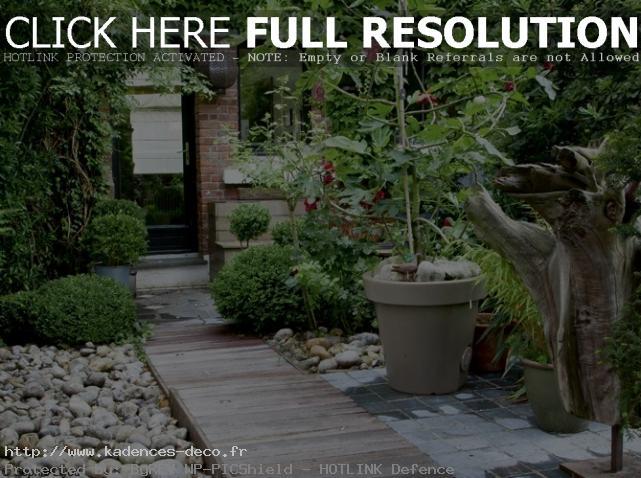 agencement décoration petit jardin maison