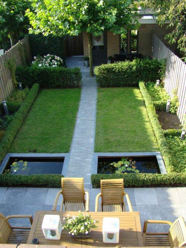 organisation décoration petit jardin maison