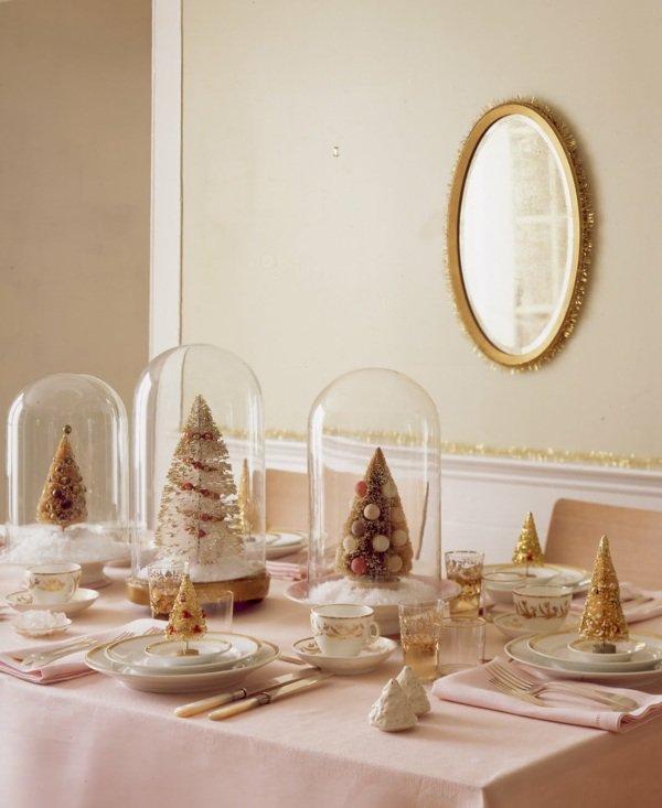 modèle décoration salle a manger pour noel