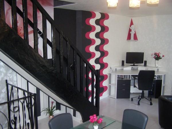 univers décoration salle a manger tapisserie