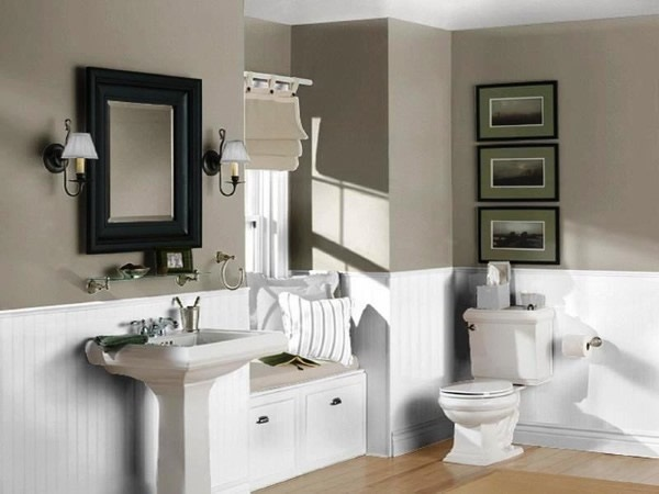 idée décoration salle de bain 2017