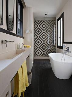 modèle décoration salle de bain 2017