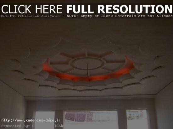 aménagement décoration salon avec platre