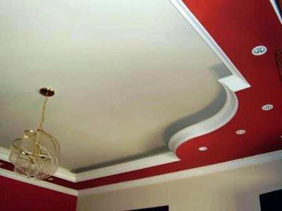 organisation décoration salon avec platre