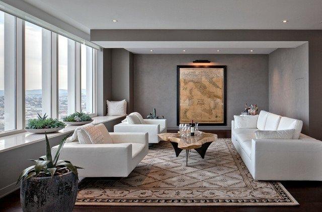 idée décoration salon italien