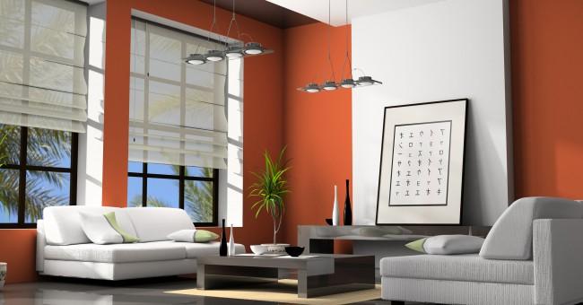exemple décoration salon italien