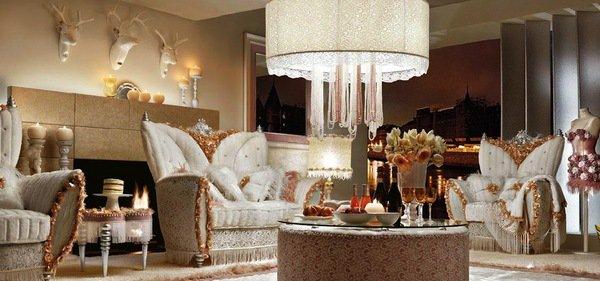 univers décoration salon italien