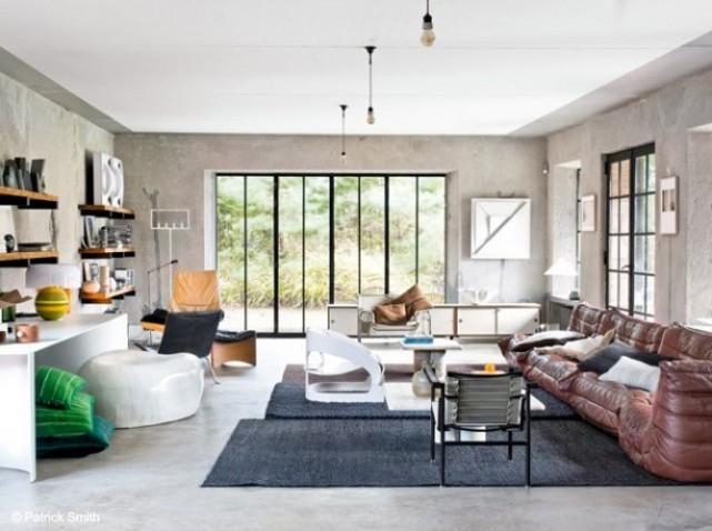 idée décoration sejour salon contemporain