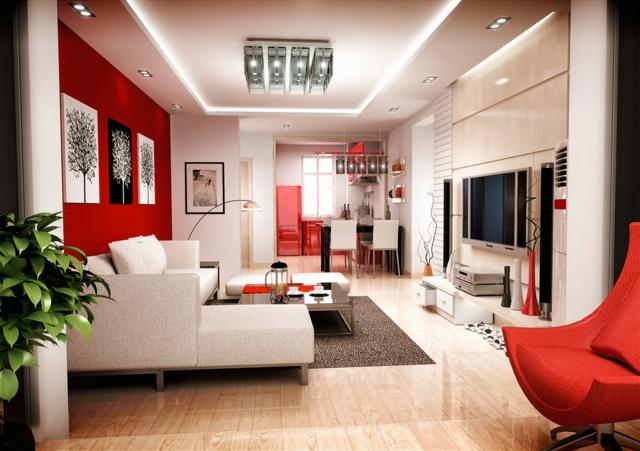 modèle décoration sejour salon contemporain