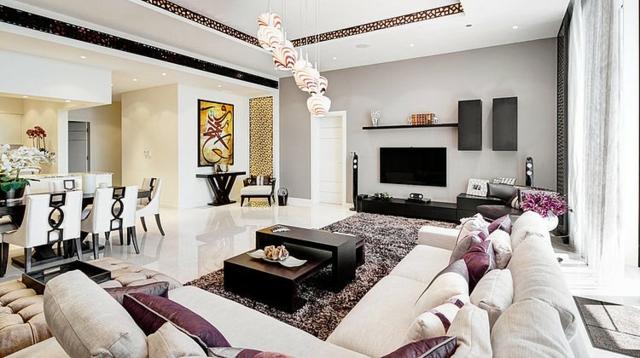 photo décoration sejour salon contemporain