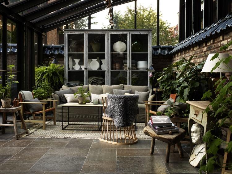 agencement décoration style jardin d'hiver
