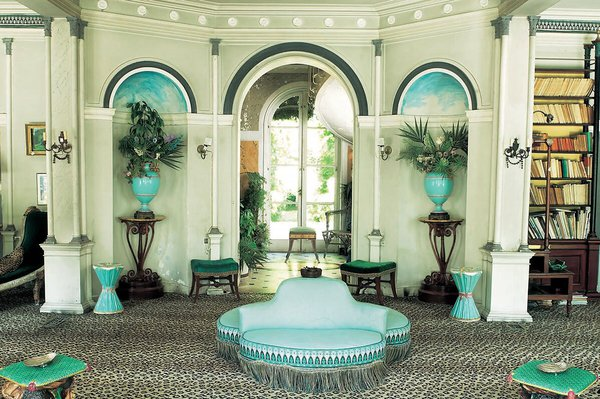 photo décoration style jardin d'hiver