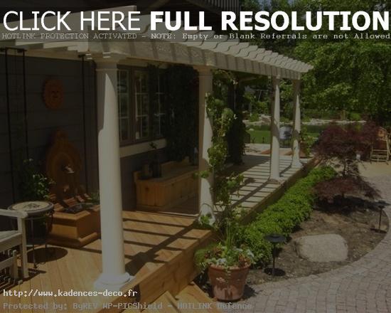 Décoration terrasse de maison