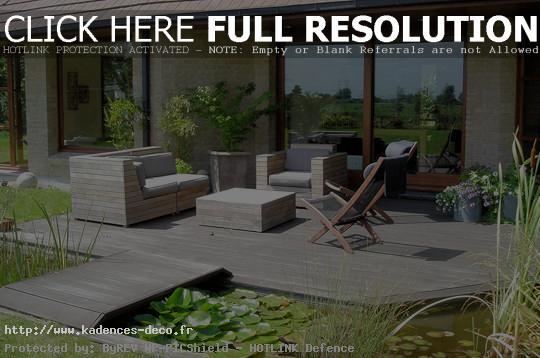 modèle décoration terrasse de maison