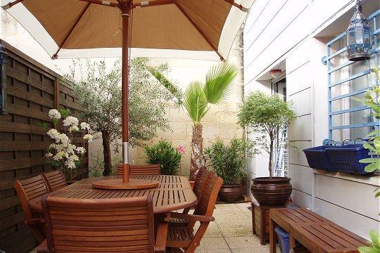 organisation décoration terrasse de maison