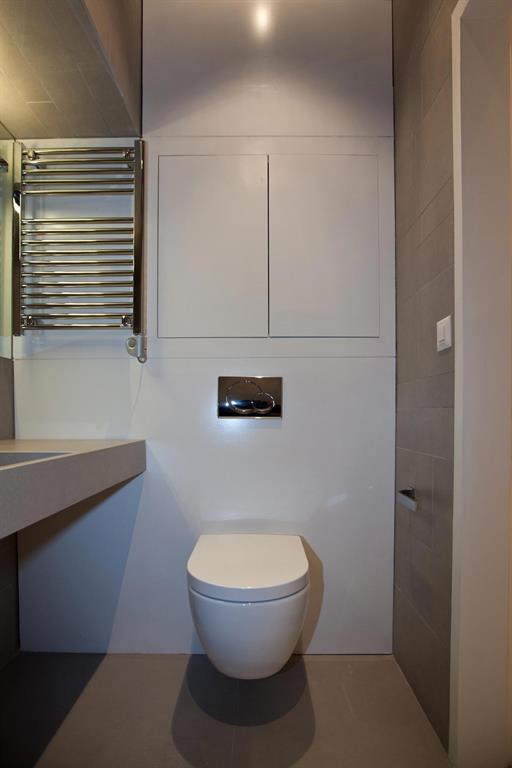 Décoration toilettes moderne