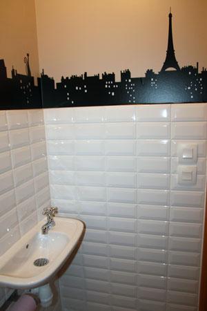 Décoration toilettes paris